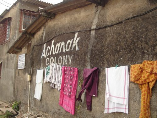 Achanak colony slum