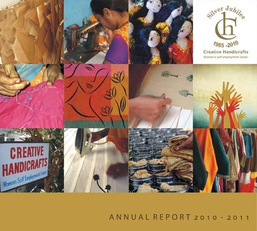 Creative Handicrafts Annual Report cover 2010-2011