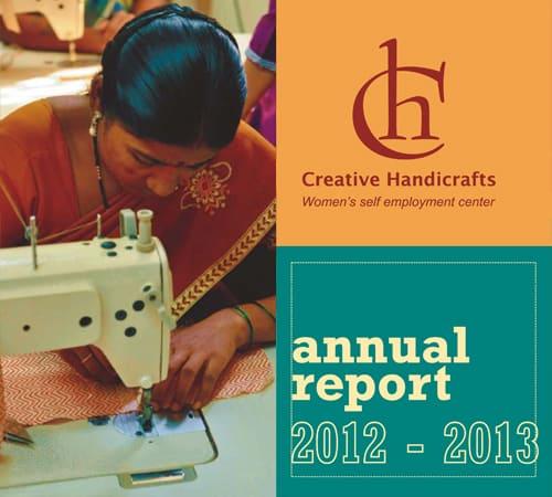 Creative Handicrafts Annual Report cover 2012-2013