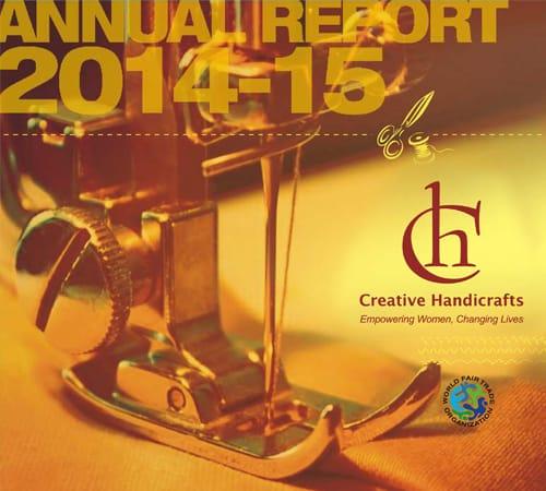 Creative Handicrafts Annual Report cover 2014-2015