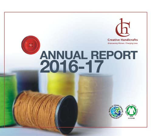 Creative Handicrafts Annual Report cover 2016-2017