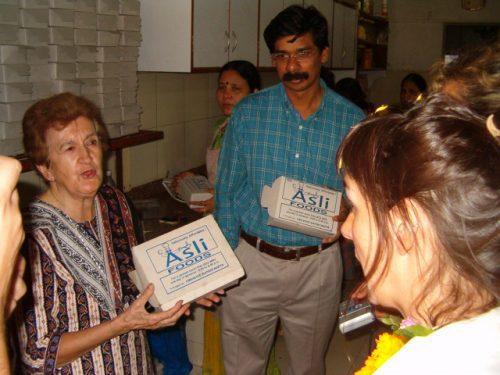 Sister Isabel at Asli Food