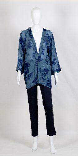 Creative Handicrafts Mala viscose crepe kimono