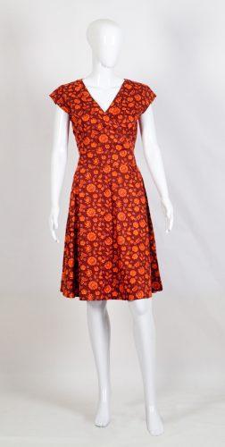 Creative Handicrafts Oberlin red cotton dress