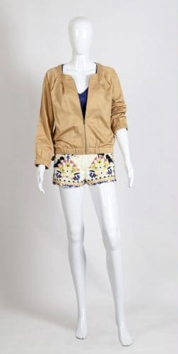 Creative Handicrafts Blosson satin cotton jacket