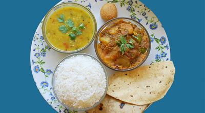 Asli food served