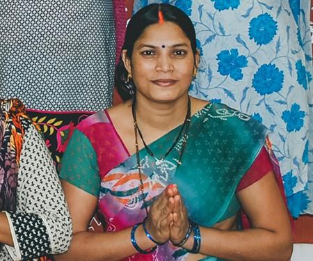 Empowered women at Creative Handicrafts fair trade
