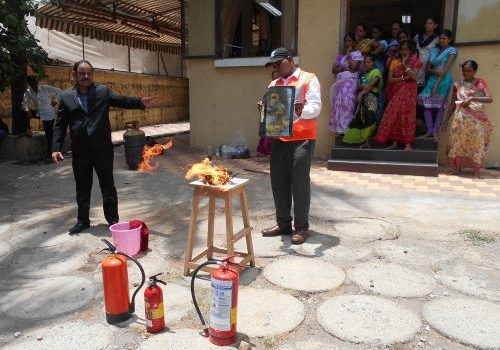 Fires safety training